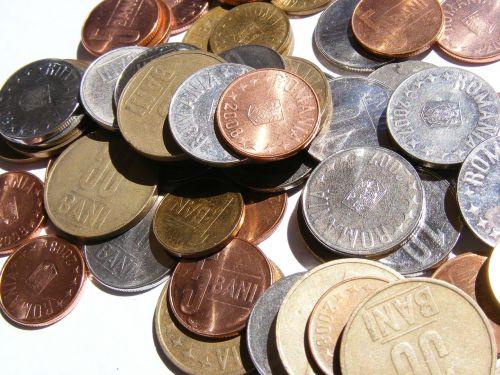 bani coins lei