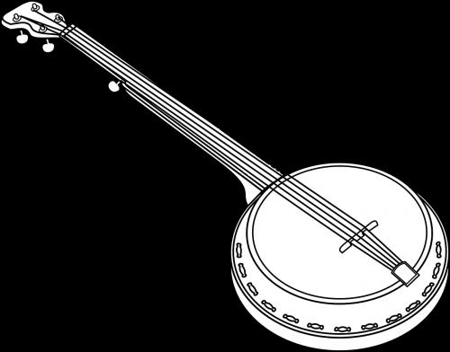 banjo music musical instrument