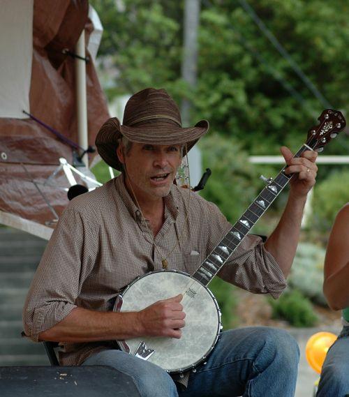 banjo musician instrument