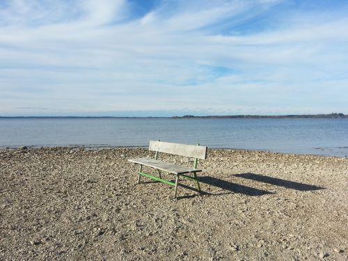 bankas,vienatvė,poilsis,tylus,sėdėti,stendas,vienas,laukti,atsipalaiduoti,sąmoningas,nuotaika,pertrauka,chiemsee