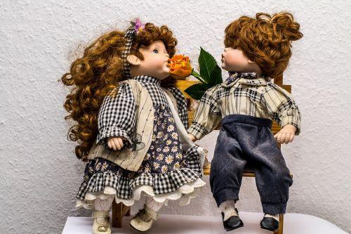 bank sit dolls