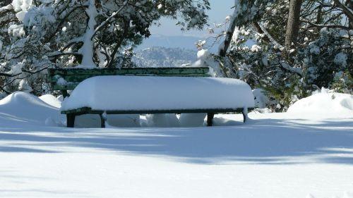 bank snow nevado