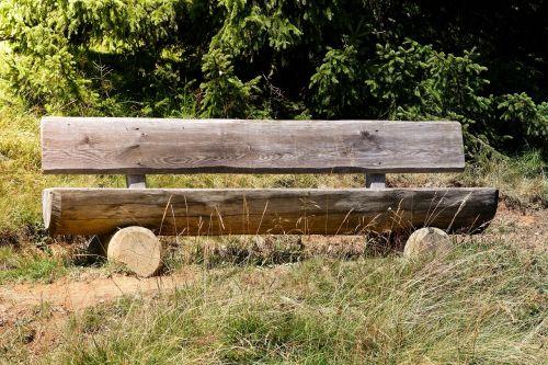 bankas, medinis stendas, gamta, poilsis, takas, spustelėkite, sėdynė, ištemptas, mediena, stendas, poilsio vieta, sėdėti, išeiti