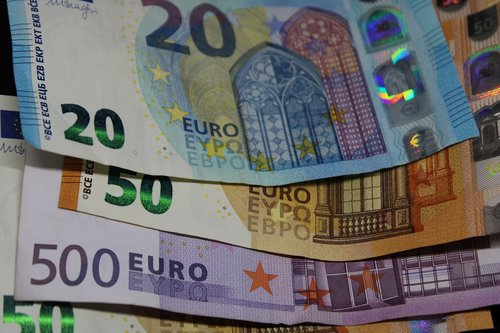 bank note  euro  currency