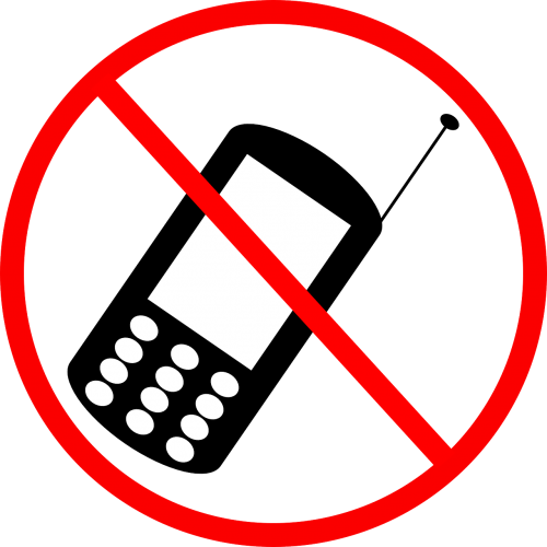 banned cell phone cellphone