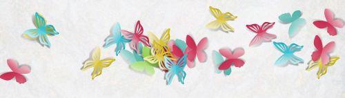 banner template butterfly