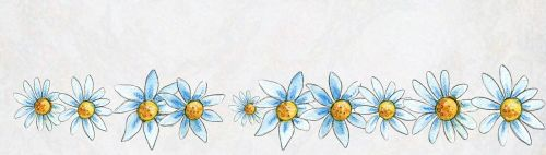 banner template flowers