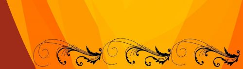 banner template swirl