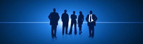 banner header businessmen