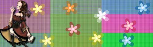 banner header pattern