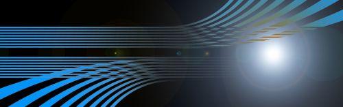 banner header wave
