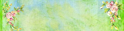 banner green bright