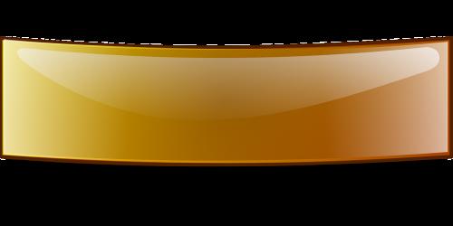 reklama,lenkta,blizgus,juosta,stačiakampis,ruda,oranžinė,nemokama vektorinė grafika