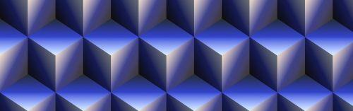 banner header cube