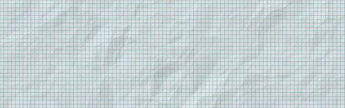 banner header graph paper