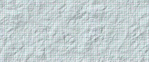 banner header wrinkled paper