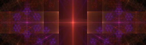 banner header fractal