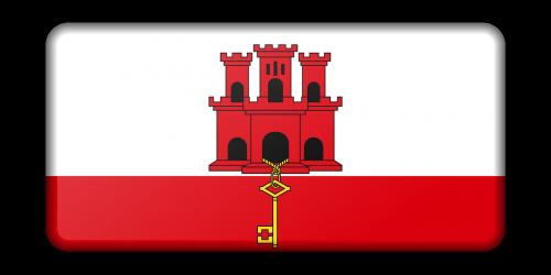 reklama,apdaila,vėliava,Gibraltaras,ženklas,signalas,simbolis,nemokama vektorinė grafika