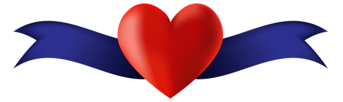 banner heart placeholder