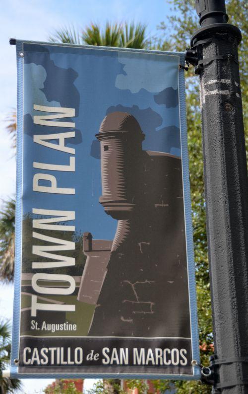 Banner St. Augustine, Florida