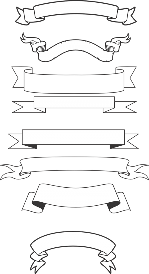banners scrolls script