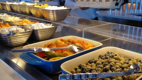 banquet food lunch
