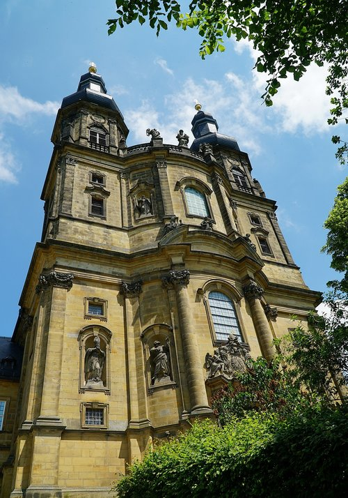 banz abbey  bad staffelstein  church