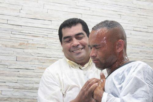 baptism water pastor