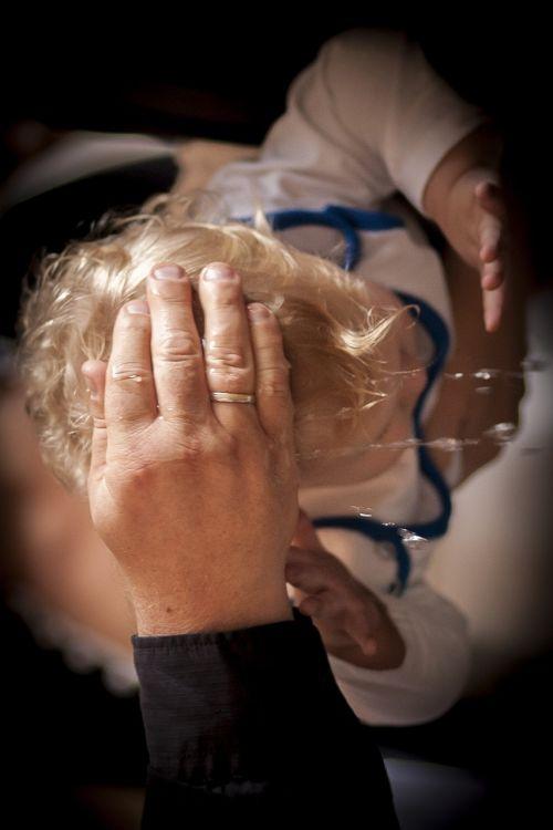baptism water child