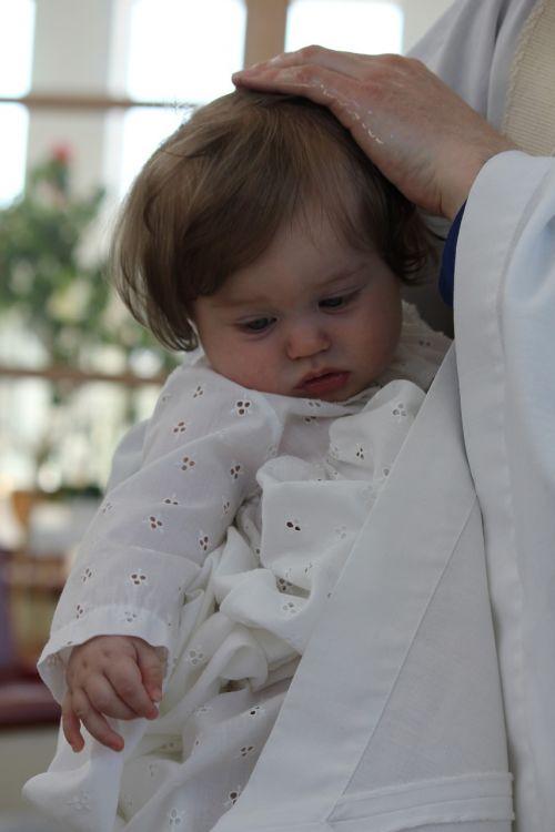 baptism baptismal service baby