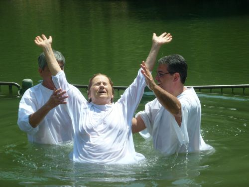 baptism christianity jordan river