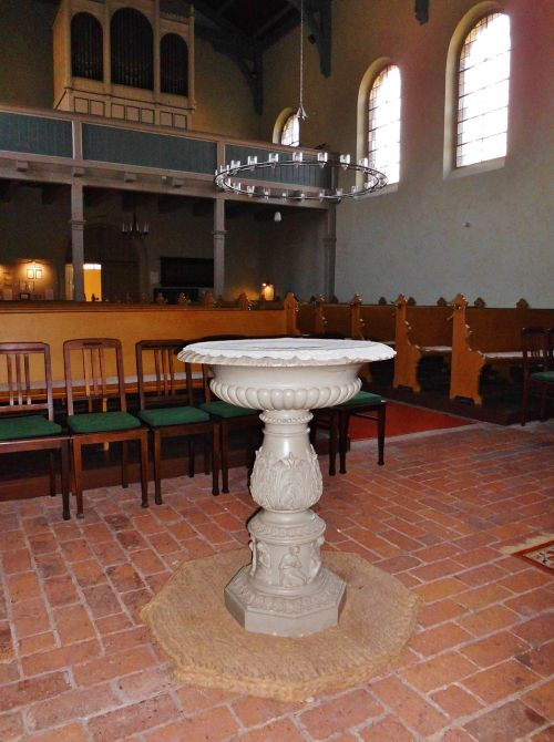 baptismal font church church room