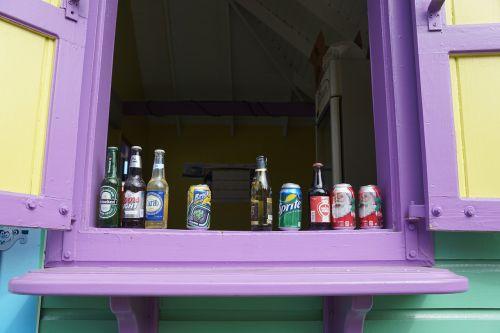 bar colorful british virgin island