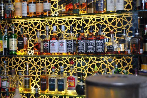 bar drink at night