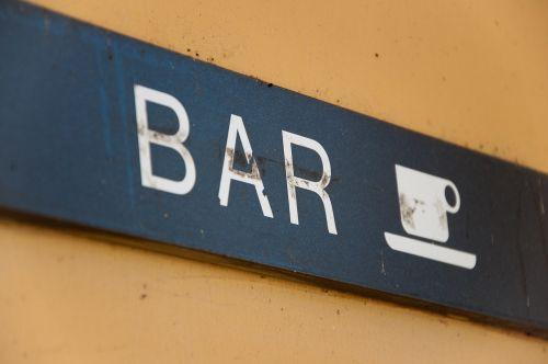 bar teaches vintage