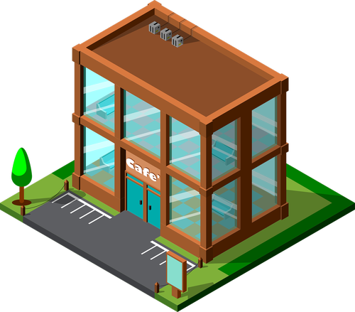 bar  coffee  isometric