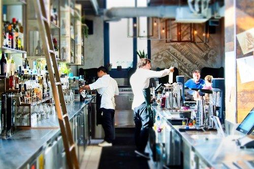 bar  counter  gastronomy
