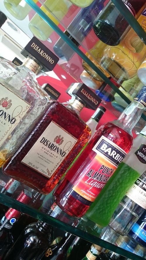 bar bottles alcohol