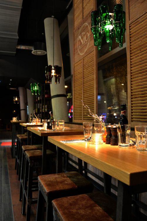 bar industrial design lamellar