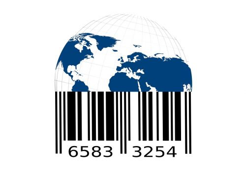 bar code barcode scan lines
