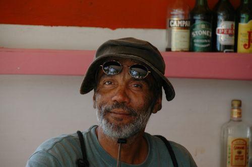 bar owner man black