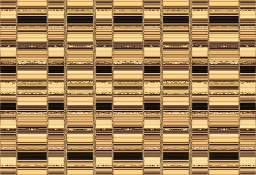 Bar Pattern In Gold