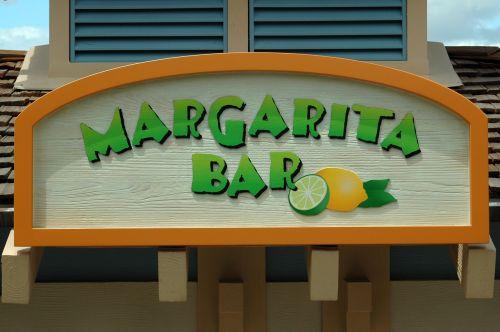bar sign bar margarita
