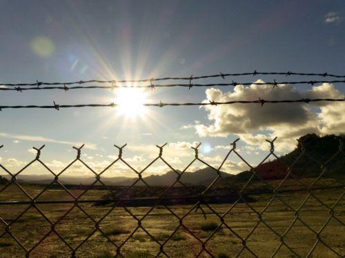 Barb Wire Sun