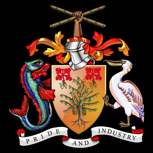 barbados barbados coat of arms barbados coa