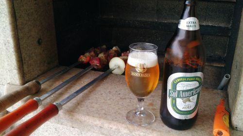 barbecue beer food