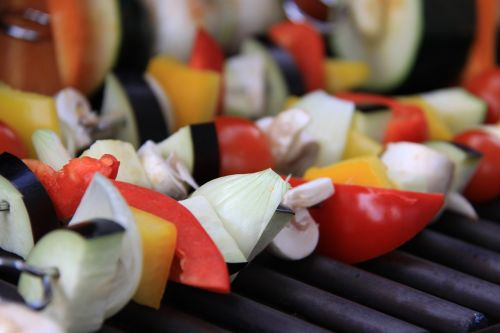 barbecue vegetables nutrition