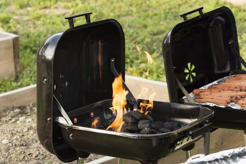 barbecue grill outdoors