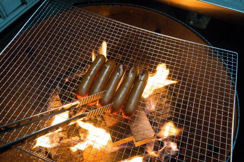 barbecue camp camping