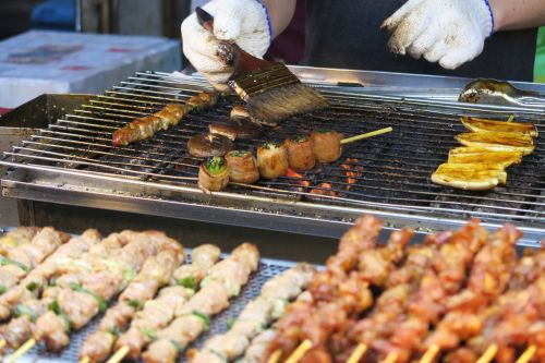 barbecue food meat